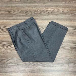Brioni Solid Charcoal Grey Dress Pants 32